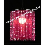 JNY Lighting /pink Beaded Hanging Chandelier for Wedding Chandeliers Centerpieces Decorations and Event Party Decor