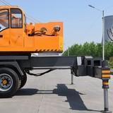 Construction Machinery Hydraulic Truck Mounted Crane 12 Ton