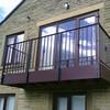 Wrought Iron Balcony Guardrail