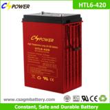 6V 420Ah Deep Cycle Gel Battery for Forklift, Sweeper