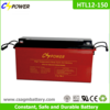 12v 150ah Deep Cycle Gel Solar Battery