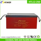 12v 250ah Deep Cycle Solar Gel Battery for Solar Panel
