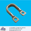 metal sheet stamping bending U style steel parts