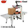 FXJ-5050B Semi-Automatic Carton Box Sealing Machine/ Carton Sealer (side belt conveyor)