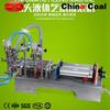 Semi-Automatic Two Nozzle Piston Pneumatic laundry washing Liquid filling machine