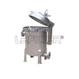 Industrial SS304 Bag Filter Housing for Sewage Water Filtration