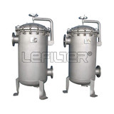 6 bag unit waste water treatment filter housing