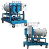 Movable coalescence dehydrated oil filter cart machine