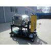 remove water transformer oil treatment filter cart