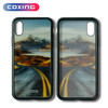 Tempered Glass Phone Case With Custom Pattern Phone Cover for IphoneX