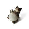 Life size resin big cat statue with big belly