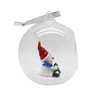 Christmas hollow clear hanging glass ball
