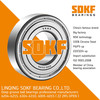 SDKF 6206-2RS-ZZ Metal Shielded Seal Deep Groove Ball Bearing 30x62x16mm