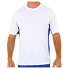 Supima T Shirt Side Stripe Fitness Tshirt Band