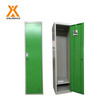 1 door steel wardrobe metal gym clothes closet