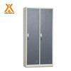 Metal adjustable shelf knock down 2 door clothing steel cheap locker