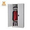 Multi use storage locker colorful metal two door locker
