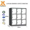 Metal swing low 9 door filling storage cabinet steel office furniture
