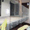 6+6 tempered laminated 17..52mm 21.52mm toughened laminated glass