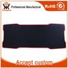 Custom Ergonomic Natural Rubber Black Big Gaming Mouse Pad