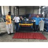 Glazed tile automtic roll forming machine