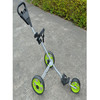 Golf trolley aluminum with three wheels foldable
