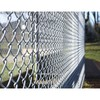 Galvanized wholesale chain link fence metal steel coated weaving fence