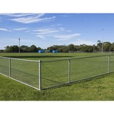 6ft pvc coated decorative chain link fence for sale factory
