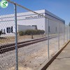 Galvanized 8 gauge cyclone wire fence chainlink fence for commercial