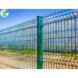 Powder coated mesh fence steel wire mesh easily assembled
