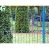 Euro style powder coating fence nylofor 3D mesh