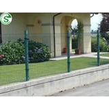 Easily assembled metal fence posts height 1m-2.5m