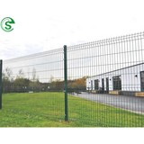 Welded wire fencing 8x8 fence panels powder coating