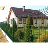 Easily assembled cheap wire curved metal fence panel