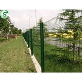 Beautiful fencing metal fence panel 3d pro