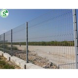 High quality pole fence nylofor 3d fencing