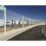 Eco Friendly decorative coated welded wire fence wire fencing