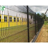 High safety level double wire fence mesh fencing