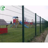 3d fence panel for building security fencing