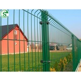 Powder coated double wire fence 50*200 opening