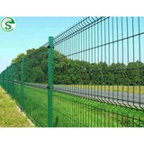 Powder coated decorative fence panel nylofor mesh for sale