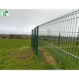 Easily assembled decorative fence hot sale 4mm wire