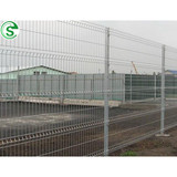 Fence manufacturer powder coated wire mesh fence for sale