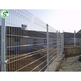 Powder coated wire mesh panel bending fence 3d pro style