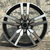 路虎20寸轮毂黑色车面