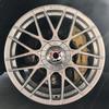 15寸改装轮毂4x100黑色灰色白色金色