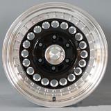 15寸改装轮毂6x139.7黑色车边