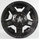 17寸SUV改装轮毂6x139.7黑色