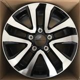 20寸轮毂5x150黑色车面高亮黑车面