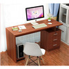 simple mdf chipboard wood computer desk with good price